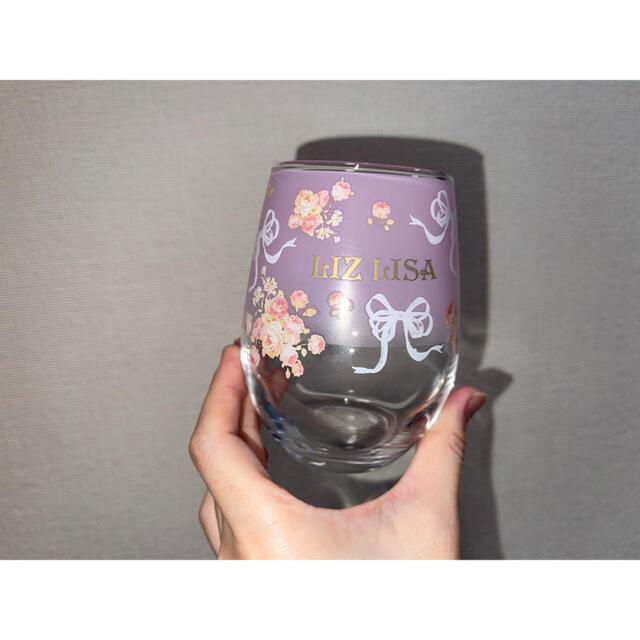 LIZ LISA(リズリサ)のLIZLISA リズリサ ノベルティー グラス 非売品 計6つ(ペア×3) インテリア/住まい/日用品のキッチン/食器(グラス/カップ)の商品写真