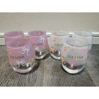 LIZ LISA - LIZLISA リズリサ ノベルティー グラス 非売品 計6つ(ペア×3)