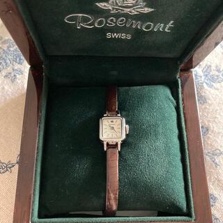 ユナイテッドアローズ(UNITED ARROWS)の【フェイス傷なし】Rosement  ロゼモン レディース 腕時計 スイス製(腕時計)