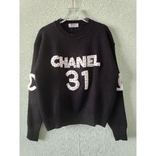 CHANEL - 人気✿シャネル セーター 黒 レディース
