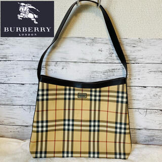 BURBERRY - BURBERRY LONDON バーバリー ノバチェック柄 ワンショルダーバッグ