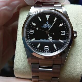 ロレックス(ROLEX)のランダム番 国内最安値 ロレックス 114270 エクスプローラー  時計(腕時計(アナログ))
