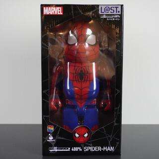 マーベル(MARVEL)の「新品」ベアブリック MARVEL スパイダーマン 400%(アメコミ)