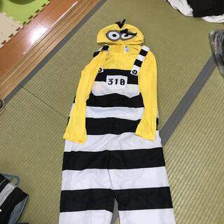 ユニバーサルスタジオジャパン(USJ)のハロウィンアイテム ミニオンズ 仮装セット 小(衣装一式)