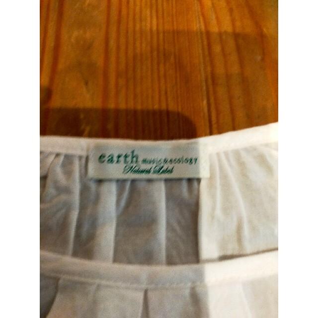 earth music & ecology(アースミュージックアンドエコロジー)のアースミュージックエコロジー シャツ レディースのトップス(Tシャツ(半袖/袖なし))の商品写真
