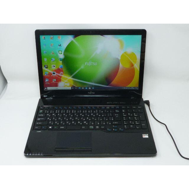 富士通(フジツウ)の富士通 ノートパソコン WA1/A3 Office2019 SSD120GB スマホ/家電/カメラのPC/タブレット(ノートPC)の商品写真
