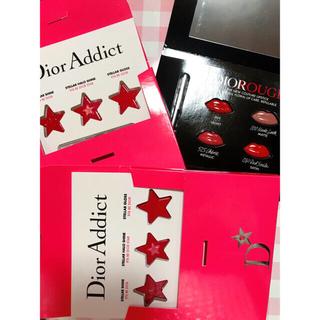 クリスチャンディオール(Christian Dior)のDior 口紅 リップグロス 香水 ノベルティ サンプル 4点 セット 新品 (香水(女性用))