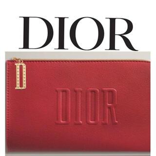 クリスチャンディオール(Christian Dior)の[DIOR] 正規品 クリスチャンディオール ブランドロゴ入りポーチ(ポーチ)