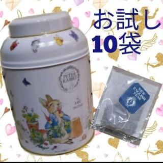 コストコ ピーターラビット ブリティッシュイングリッシュティー 紅茶 10袋
