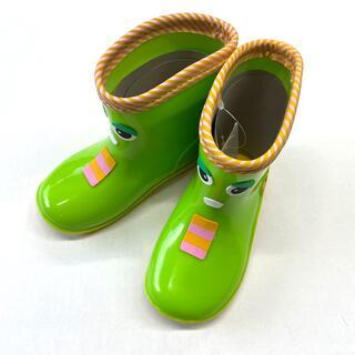 新品未使用 訳あり 17センチ ガチャピン ムック長靴 キッズシューズ 子供靴