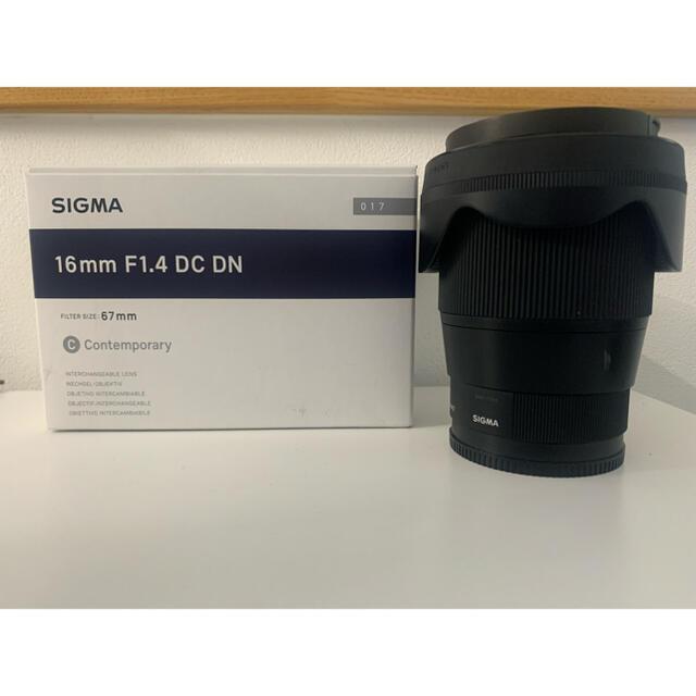 SIGMA(シグマ)のぼー様 SIGMA 16mm F1.4 DC DN ソニーEマウント用 スマホ/家電/カメラのカメラ(レンズ(単焦点))の商品写真