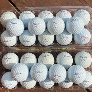 Titleist - 【PRO V1X】タイトリスト Titleist ゴルフボール GOLF 28個