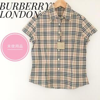 BURBERRY - ✨未使用品✨BURBERRY バーバリー シャツ ノバチェック 半袖 タグ付き