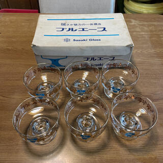 東洋佐々木ガラス - 佐々木ガラス プルエース シャーベット パフェ アイス グラス 昭和 レトロ
