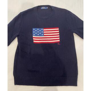 ラルフローレン(Ralph Lauren)のポロ ラルフローレン 星条旗 ニット(ニット/セーター)