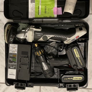 Panasonic - パナソニックインパクトドライバードリルEZ7542 電動グラインダーEZ4640