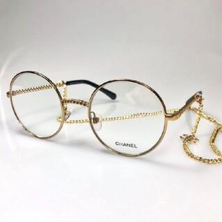 【2186 】素敵?★シャネル ★眼鏡用フレーム  チェーンタイプココマーク