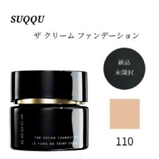 スック(SUQQU)の30gスック ザ クリーム ファンデーション 110(ファンデーション)