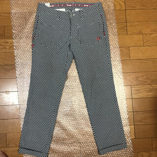 PEARLY GATES - MASTER BUNNYゴルフロゴ刺繍ストレッチパンツサイズ0
