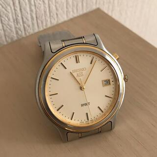 SEIKO - セイコー:腕時計 エージエス スピリット デイト(動いていません)