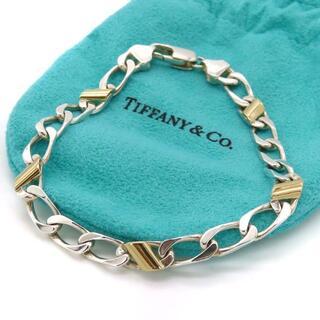 ティファニー(Tiffany & Co.)の希少 美品 ティファニー コンビ 喜平 ブレスレット CC56(ブレスレット)