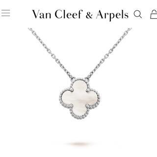 Van Cleef & Arpels - ヴァンクリーフ&アーペル ヴィンテージ アルハンブラ ネックレス