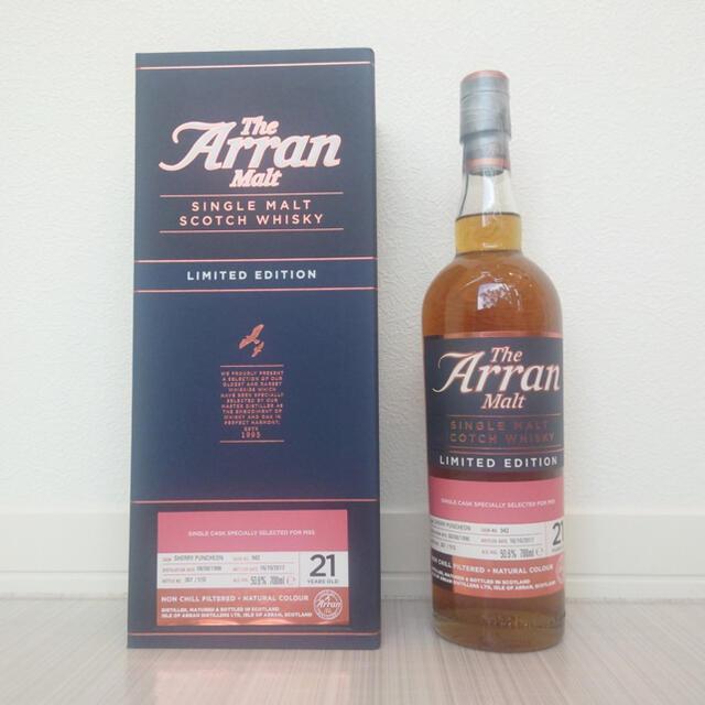 限定 アラン21年 食品/飲料/酒の酒(ウイスキー)の商品写真