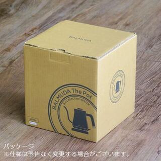 バルミューダ(BALMUDA)の新品 バルミューダ ザ・ポット BALMUDA The Pot K02A-BK(電気ケトル)