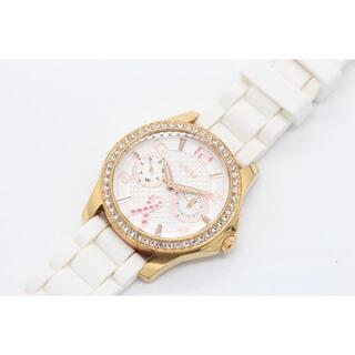 ゲス(GUESS)のGUESS ゲス ピンクゴールド デイデイト W0032L3(U01277)(腕時計)