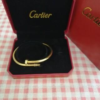 Cartier - ステキ高品質★カルティエ☆  ブレスレット/バングル ゴールド★Au750 #1