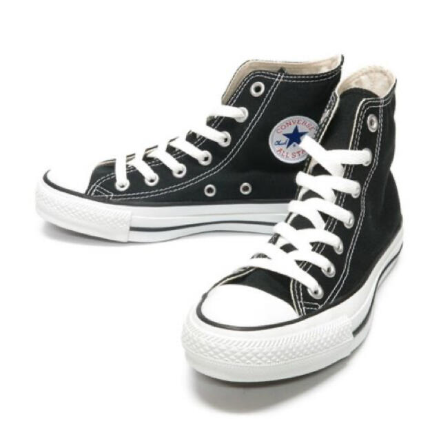 CONVERSE(コンバース)のオールスター コンバース 100 カラーズ ハイ 黒ライン 26cm メンズの靴/シューズ(スニーカー)の商品写真