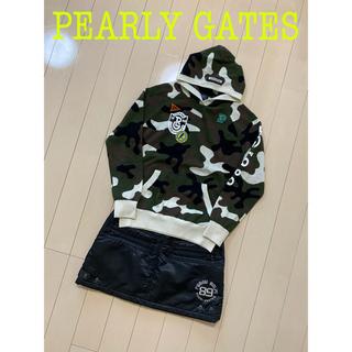 PEARLY GATES - パーリーゲイツ カモフラ ニット パーカー スカート セット売り 1 レディ