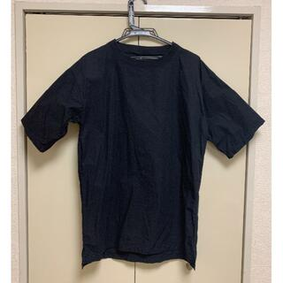 MUJI (無印良品) - MUJI Labo Tシャツ  XXS-XS  ネイビー ユニセックス