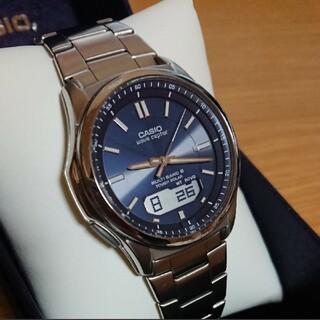 カシオ(CASIO)のCASIO ウェーブセプター 電波ソーラー メンズ  腕時計          (腕時計(アナログ))