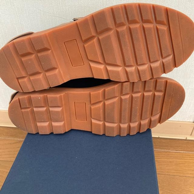 kolor(カラー)のkolor 21ss ドッキングローファー 26.5 ベージュ メンズの靴/シューズ(ドレス/ビジネス)の商品写真