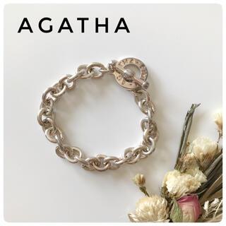 AGATHA - 【AGATHA】アガタ チェーンブレスレット
