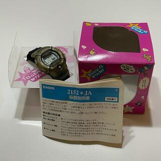 カシオ(CASIO)のG-SHOCK Baby-G BG-430 広末涼子モデル コラボ 秘密 中古品(腕時計(デジタル))