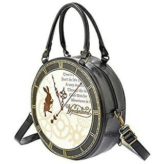 Disney - 【新品】h.NAOTO ディズニー アリス コラボ 時計型 3way バッグ