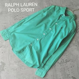 ポロラルフローレン(POLO RALPH LAUREN)のヴィンテージ ラルフローレン ポロスポーツ ワイシャツ オーバーシャツ 羽織(シャツ/ブラウス(長袖/七分))