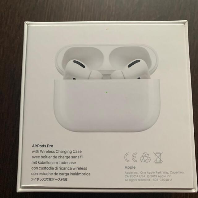 Apple(アップル)の純正 AirPods Pro スマホ/家電/カメラのオーディオ機器(ヘッドフォン/イヤフォン)の商品写真
