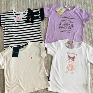 イーストボーイ(EASTBOY)の新品未使用タグ付 女の子Tシャツ 120サイズ 4まい☆イーストボーイ マイメロ(Tシャツ/カットソー)