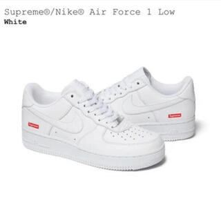 Supreme - 27cm Supreme Nike Air Force 1 Low White