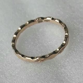 COCOSHNIK - K10 ピンクゴールド 指輪