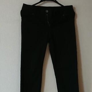ドゥーズィエムクラス(DEUXIEME CLASSE)のドゥーズィエムクラス☆黒スキニー  パンツ 36♪ライン綺麗(スキニーパンツ)