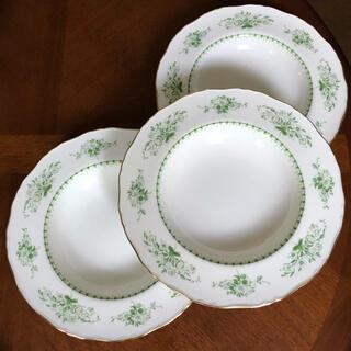 ロイヤルウースター(Royal Worcester)の【レア美品】ロイヤルウースター★DERWENT★深皿 3枚(食器)
