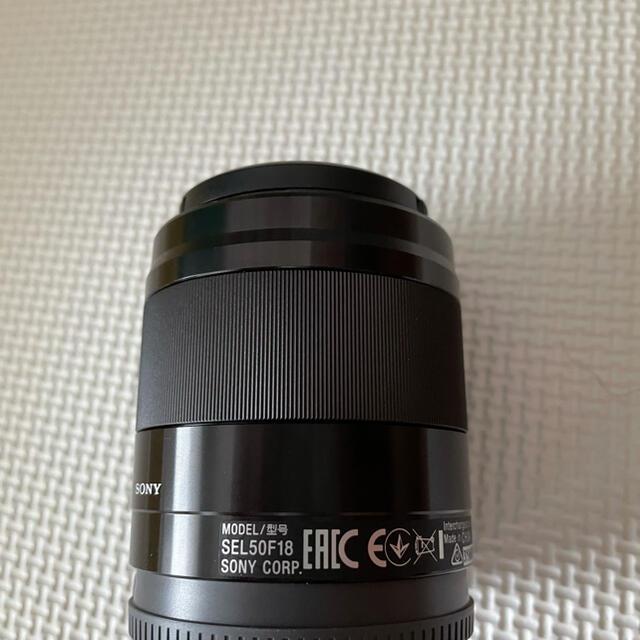SONY(ソニー)のSONY Eマウント E50mmF1.8mm Oss スマホ/家電/カメラのカメラ(レンズ(単焦点))の商品写真