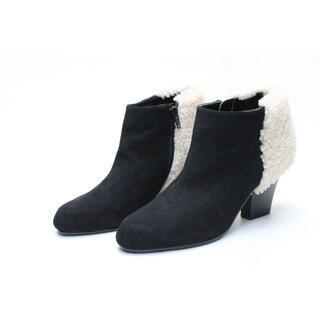 モードエジャコモ(Mode et Jacomo)のモードエジャコモ 切り替えショートブーツ(24cm)超美品(ブーツ)
