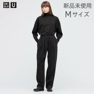 UNIQLO - 【新品未使用】 ユニクロU スウェットギャザーパンツ UNIQLO U M