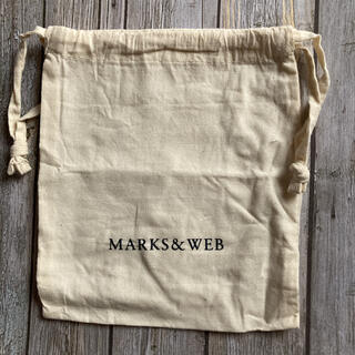 マークスアンドウェブ(MARKS&WEB)のマークスアンドウェブ ポーチ 袋(ショップ袋)