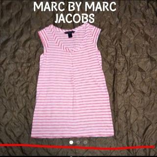 マークバイマークジェイコブス(MARC BY MARC JACOBS)のMARC BY MARC JACOBS ボーダー ノースリーブカットソー(カットソー(半袖/袖なし))